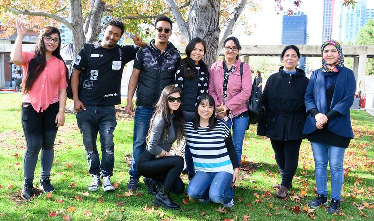 Photo of San Diego City College Students