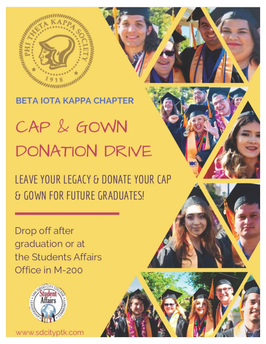 PTK Donate Gowns